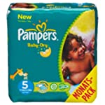 Pampers Windeln Baby Dry Gr.5 Junior...