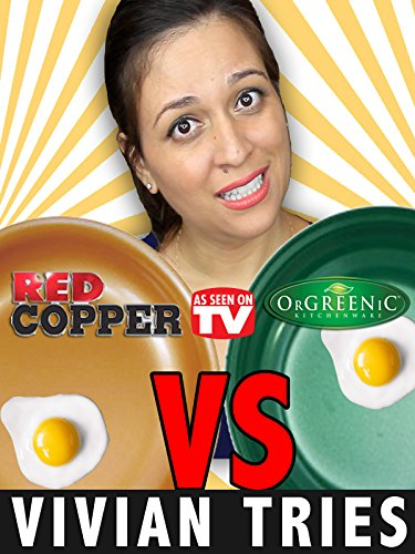 Review: Vivian Tries Red Copper Pan vs Orgreenic