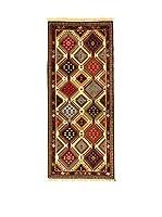 L'Eden del Tappeto Alfombra Yalameh Beige / Multicolor 198  x  85 cm