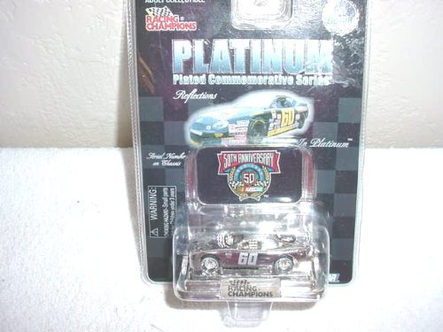 NASCAR Racing Champions 50th Anniversary Platinum Plated #60 Car