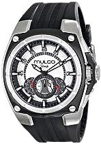 MULCO Unisex MW1-29786-021 Analog Display Swiss Quartz Black Watch
