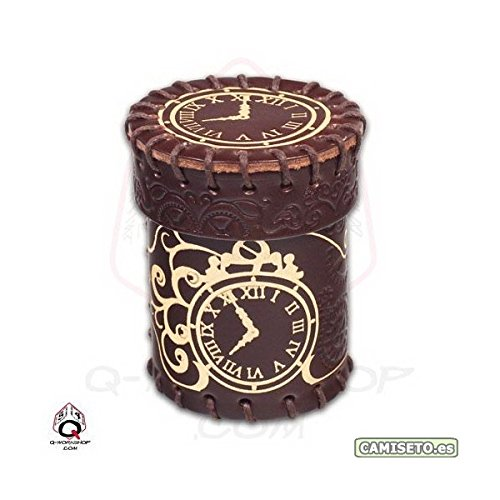 Lowest Prices! Golden Steampunk Leather Cup, Brown