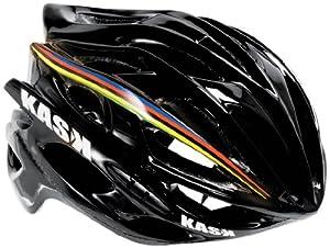 Kask Helm Mojito - Casco de ciclismo multiuso, color negro, talla 48 - 58 cm