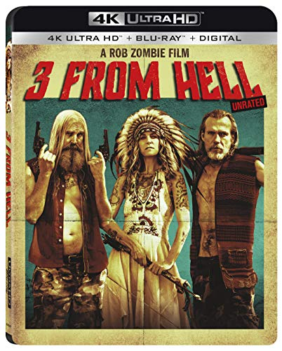 4K Blu-ray : 3 From Hell (2 Discos)