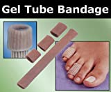 GEL Tube Toe/Finger Bandage - Pain Relief From Blisters, Corns, Calluses and other Ailments Causing Sore Fingers and Toes
