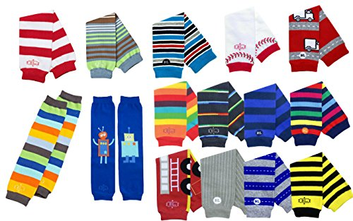 Boy Babylegs Baby Leg Warmers (Set of 15) Wholesale