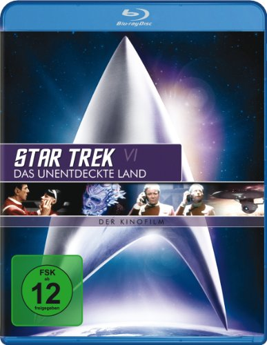 Star Trek 6 - Das unentdeckte Land [Blu-ray]