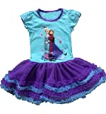 Pelifashion Fancy Dress Costume Cosplay Skirt for Little Child Girls