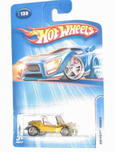 #2005-139 Meyers Manx Gold Co-Mold Wheels Collectible Collector Car - 1