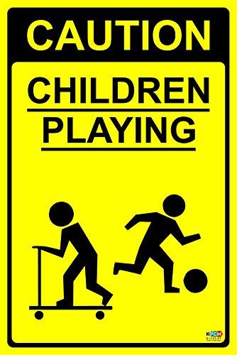 caution-children-playing-sign-12mm-rigid-plastic-200mm-x-300mm