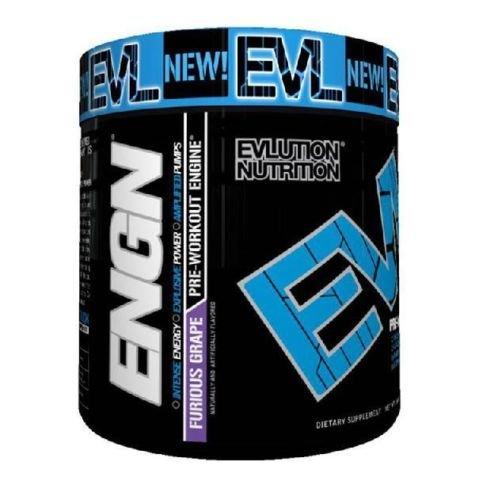 Evlution Nutrition EVL ENGN Pre-Workout Powder, Pikatropin-Free, Furious Grape 30 Servings (8.6 Oz) (Preworkout Grape compare prices)
