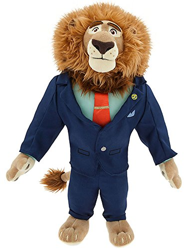 "Disney Zootopia Mayor Leodore Lionheart Exclusive 16"" Plush"