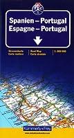 Carte routière et touristique : Espagne - Portugal