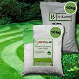 10kg GENERAL PURPOSE GRASS SEED & 10kg PRE-SEEDER FERTILISER (MULTI-SAVE PACK)