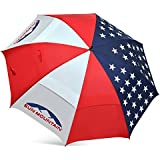 USA Flag UV Manual Umbrella
