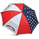 USA Flag UV Manual Umbrella