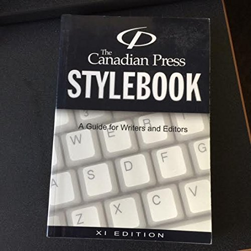 The Canadian Press Stylebook : A Guide for Writers and Editors
