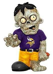 Minnesota Vikings Zombie Figurine by Hall of Fame Memorabilia