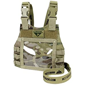 CONDOR 244-008 Mini Plate Carrier ID Panel MultiCam