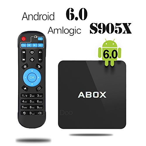 2017 Model GooBang Doo Android 6.0 TV Box, ABOX Android TV Box