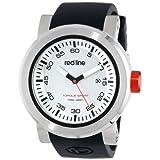 Reloj Red Line RL-50049-02S Torque, para hombre, deportivo, dial negro y pulera de silicona.