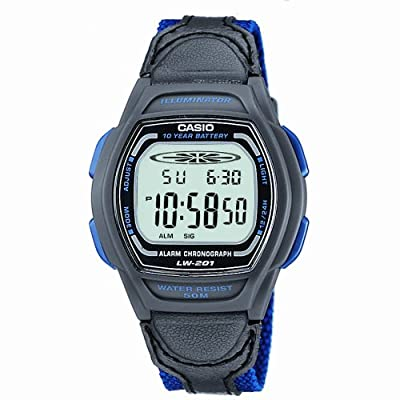 Casio LW-201B-2AVEF Ladies Digital Watch by Casio