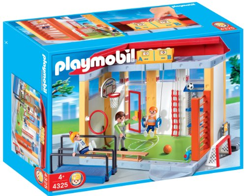 PLAYMOBIL School Gym Playset Construction Set