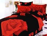 Le Vele Girls Teen Bedroom Bedding Floral Twin Duvet Covet Set LE01T