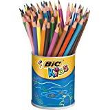 Bic Evolution 841229-ASS Pot 60 crayons évolution Couleurs Assorties