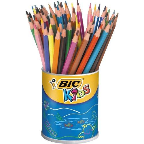 bic-kids-evolution-colouring-pencils-multi-coloured-pot-of-60