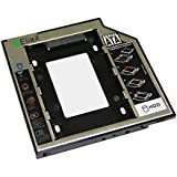 EiioX SATA 2nd 2.5'' Hard Drive Caddy for 12.7mm Universal CD/DVD-ROM**Expand your data storage on your Laptop with HDD/SSD