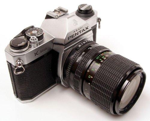 PENTAX ASAHI K1000 K-1000 K 1000 35mm SLR FILM CAMERA WITH LENS COMBO