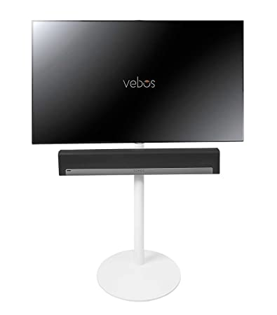 Vebos tv Standfuß Sonos Playbar weiß - Hohe Qualität en optimales experience in jedem Zimmer - Hier können Sie Ihre fernseher uberall zu hängen, wo Sie es wollen - Zwei Jahre Garantie