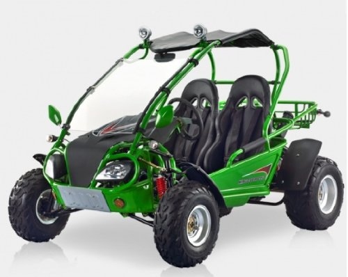 BMS King Cobra 150 GREEN Gas 4 Stroke 149cc Buggy Go Kart