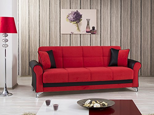 Urban Style Sofa Bed | Truva Red