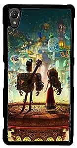 inktree Back Cover For Sony xperia Z2 (Black, ink_Z2_113)