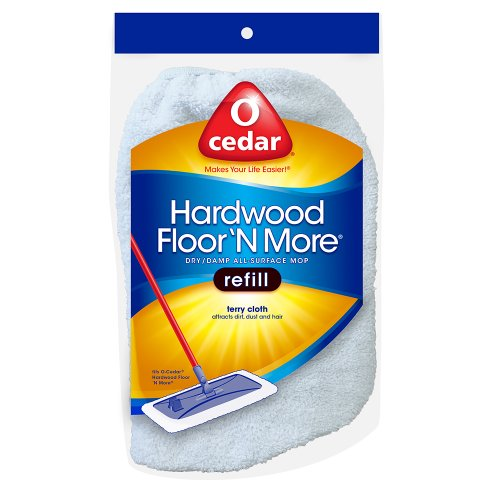 o cedar hardwood floor 39 n more terry cloth refill home garden household supplies household. Black Bedroom Furniture Sets. Home Design Ideas
