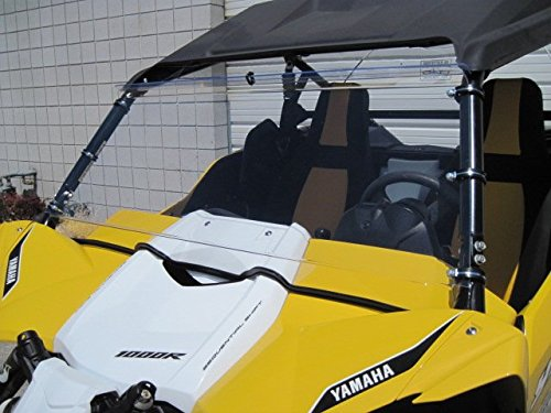 Yamaha-YXZ-Scratch-Resistant-Full-Lexan-windshield-I-need-to-know-what-kind-of-roof-you-have-Read-ad-for-measurement-instructions-Also-check-emailJunk-mail-after-order-is-placed