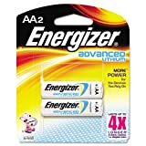 Energizer® - Advanced Lithium Batteries, AA, 2/Pack - Sold As 1 Pack - Advanced performance.