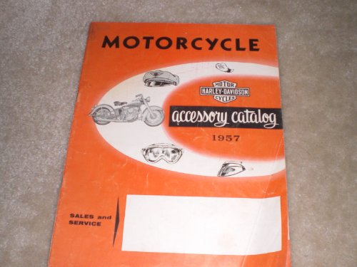 1957 Harley-davidson Accessory Catalog (Harley Accessory Catalog compare prices)