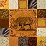 African Collage I By Pinto, Patricia - Fine Art Print On ARCHIVAL PAPER : 23.25 X 23.25 Inches