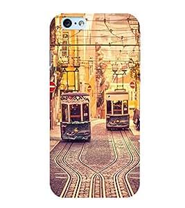 Trams 3D Hard Polycarbonate Designer Back Case Cover for Apple iPhone 6