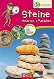 Naturdetektive: Steine, Minerale und Fossilien. Wissen und Beschäftigung für kleine Naturforscher ab 6 Jahren