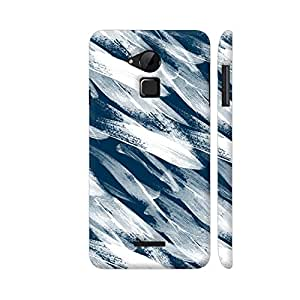 Colorpur Strokes Blue Designer Mobile Phone Case Back Cover For Coolpad Note 3 / Note 3 Plus | Artist: Abhinav