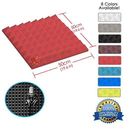 super-dash-1-piece-of-50-x-50-x-5-cm-pyramid-red-acoustic-home-studio-soundproof-treatment-accessori