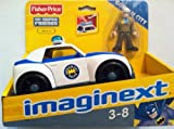 Imaginext Gotham City Commissioner Gordon and Police Car DC SUPER FRIENDS