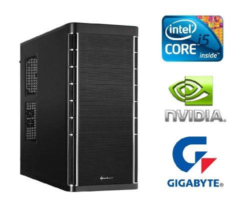 PC24 GAMER PC INTEL i5-3570K @4x4,00GHz Ivy Bridge | nVidia GF GTX 660Ti mit 2048MB GDDR5 RAM DX11.1 | 16GB DDR3 PC1600 RAM G.Skill | 1000GB Seagate SATA/600 | Gigabyte GA-Z77X-UD3H Mainboard Sockel 1155 | LG DVD-Brenner 22fach | 600Watt Silverstone 80+ Power ATX Netzteil | i5 Gaming PC (i5-3570K mit GTX 660Ti 2048MB)