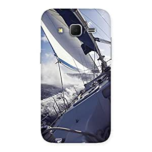 Cute Floating Boat Back Case Cover for Galaxy Core Prime
