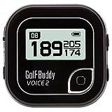GolfBuddy Voice 2 Golf GPS/Rangefinder (Black)