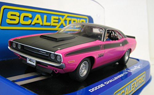 Scalextric 1:32 Scale Dodge Challenger T/A 1970 Slot Car